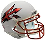NCAA Arizona State Sun Devils Orange Mini Helmet, One Size, White