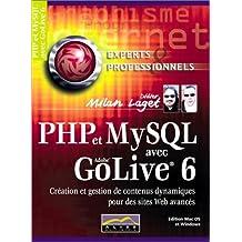 PHP et MySQL avec GoLive 6