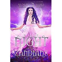 Night of the Zandians: A Reverse Harem Alien Warrior Romance (Zandian Brides)