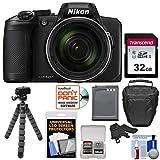Nikon Coolpix B600 60x Wi-Fi Digital Camera with 32GB Card + Battery + Case + Tripod + Kit