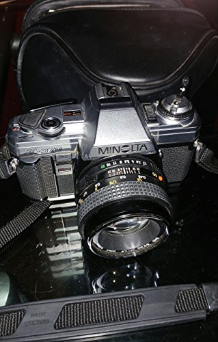 Minolta X-370 Film Camera With A Standard 50mm f/1.7 Lens