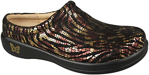 Alegria Women's Kayla Shoes, Golden Jungle - 6-6.5 B(M) US