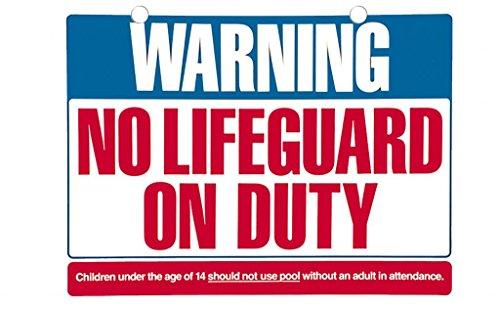 No Lifeguard Duty Decorative Sign