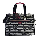 Betsey Johnson Travel Weekender (Black Floral)