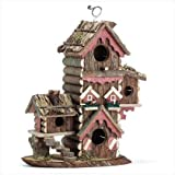 Cheap Decorative Joyful Style Birdhouse Home Garden Décor