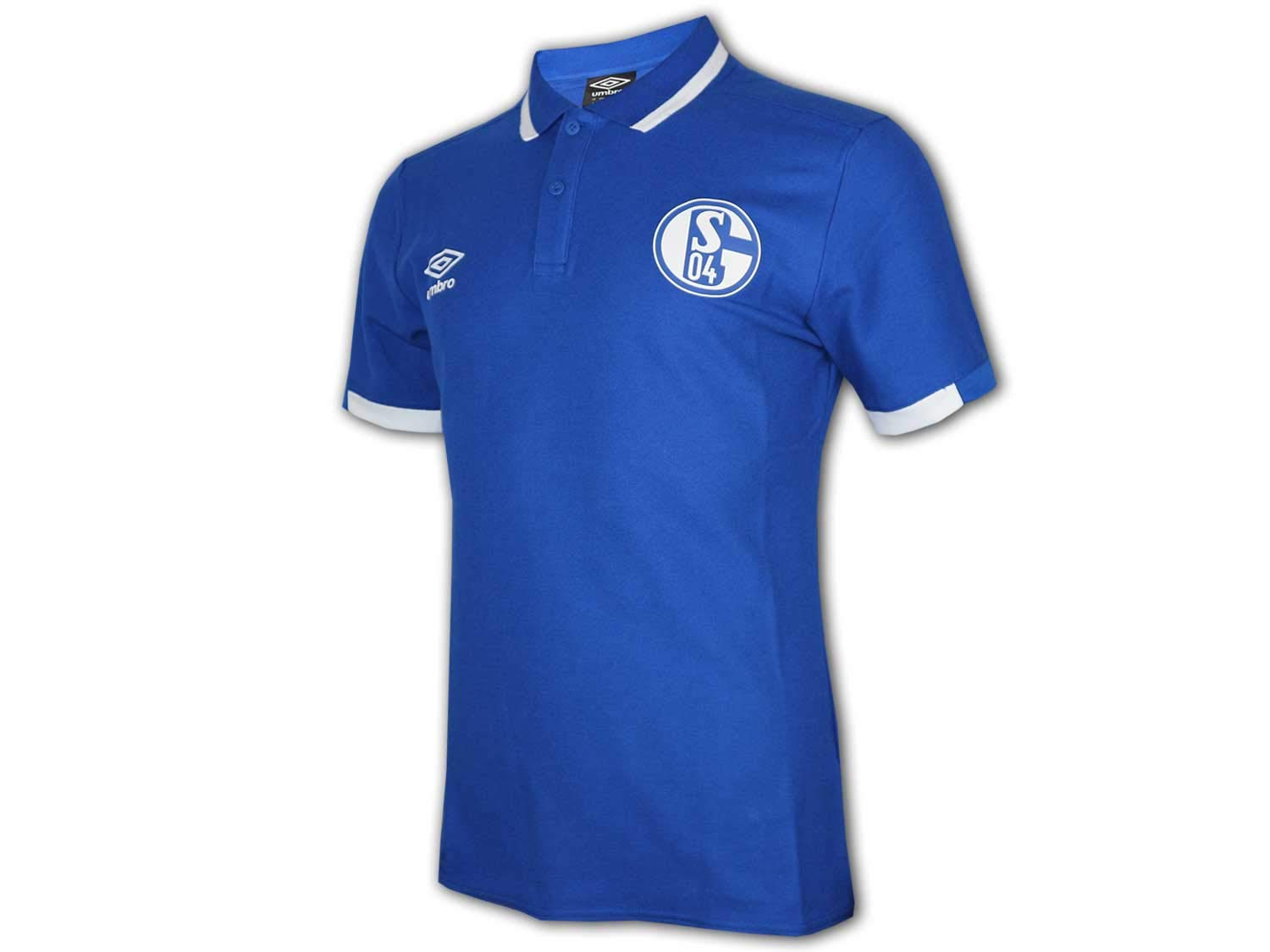 Umbro 2019-2020 Schalke CVC Polo Football Soccer T-Shirt Camiseta ...