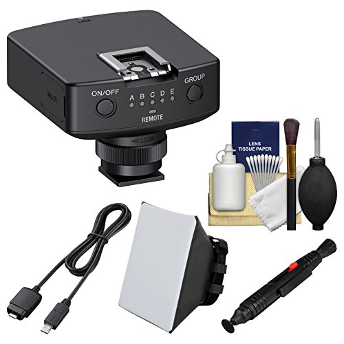 Sony FA-WRR1 Wireless Radio Receiver with VMC-MM1 Multi-Terminal Connection Cable + Soft Box + Cleaning Kit by Sony