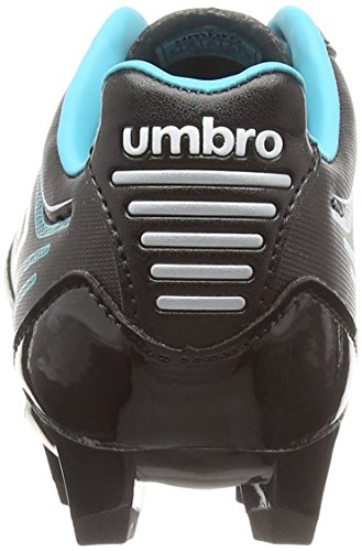 Umbro Medusæ Club Hg Jnr, Botas de Fútbol Niños Negro (Ecg-Black/White/Bluebird)