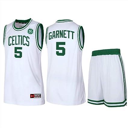 MYLJX Camiseta de Baloncesto para Hombre de los Boston ...
