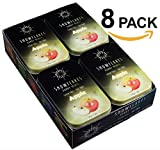 Snowflakes Xylitol Candy (Apple)- PACK OF 8- Made with only 2 ingredients; Cleanest birch Xylitol candies on the market!