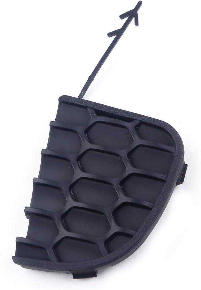 beler Rear Bumper Tow Hook Eye Cover Cap Flap Black