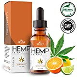 Revive Organic Raw Hemp Extract (100MG) for Better Sleep, Citrus Blast Flavor, Blended with Organic Hemp Oil for Optimal Absorption, CO2 Cold Extracted, Non-GMO, Gluten-Free, Kosher, 1oz For Sale