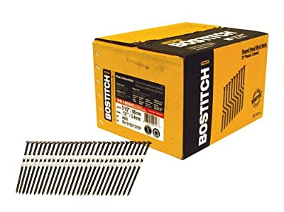 BOSTITCH RH-S16D131EP Round Head 3-1/2-Inch-by-1/8-Inch-by-21-Degree Plastic Collated Framing Nail, 4,000 per Box by Bostitch