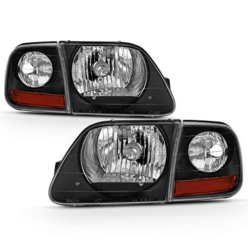 01 f150 black headlights - 1
