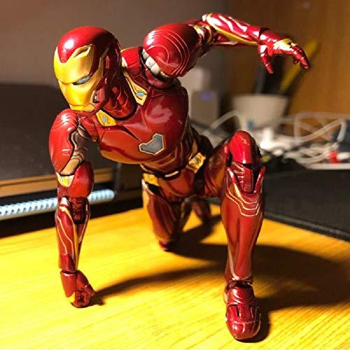 EvelynSemple SHFiguarts SHF IRO.nman MK50 Super Hero M-Arvel Avengers Infinity War BJD Action Figures Model Toys for Children