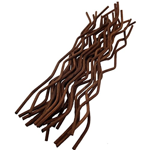 General Premium Brown Wavy Rattan Reed Fragrance Diffuser Replacement Refill Sticks 10