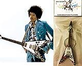 Keychain Guitar Gibson Flying V Psychedelic Jimi