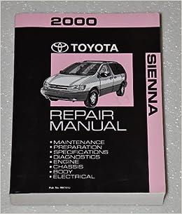 2012 sienna repair manual