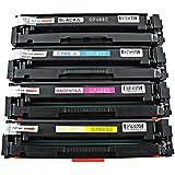 Kit Colorido Toner Compatível para impressora HP M277 M277N M277DW M252 M252N M252DW M274 252N 277N 252DW 277DW 252