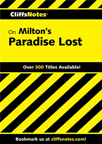 CliffsNotes on Milton's Paradise Lost (Frommer's)