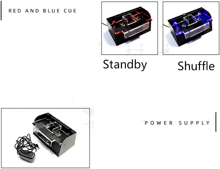 YINSY Automatic Card Shuffler,Electric Card Shuffler for Home /& Party Use