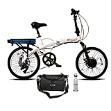 Product icon of Prodeco V5 Mariner Seven 8 Speed Folding Electric Bicycle,