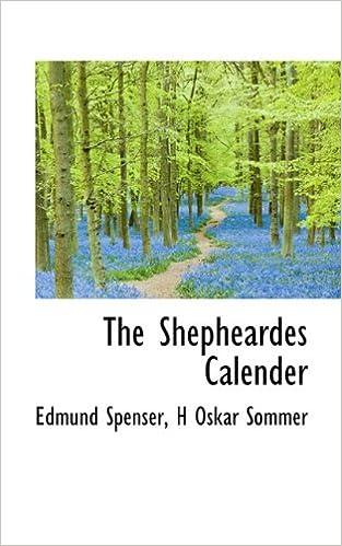 Book The Shepheardes Calender