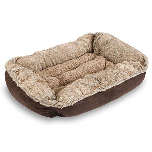 25' Plush (Sofantex Plush Pet Bed (Grey 05, 25))