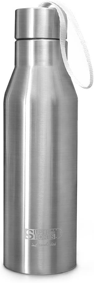 Landnics Stainless Steel Water Bottle, 25oz Vacuum Insulated Bottle Portable Leak-Proof Sports Water Bottle Double Wall Thermos Flask Keep Cold 24hrs /Hot 12hrs, BPA Free
