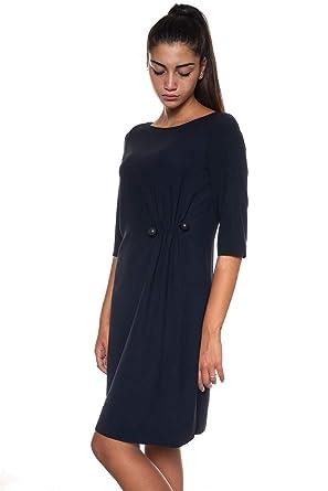 10d319dc7335 Emporio Armani - Robe - Femme Bleu Bleu - Bleu - 40  Amazon.fr  Vêtements  et accessoires