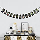 jollylife 2018 Graduation Photo Banner Party Supplies - Congrats Grad Garland Decorations Favors