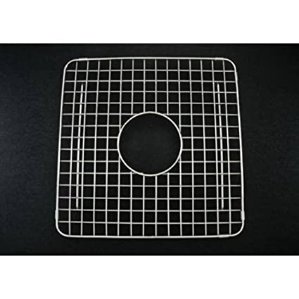 Rohl WSG3719SS Wire Sink Grid For RC3719 Kitchen Sinks, Both Left And Right  Bowl,