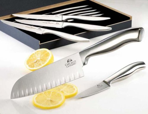 UPC 739212099990, Chicago Cutlery Santuko & Paring Knife with 9-piece Bonus Set