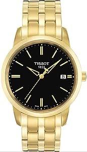 تيسوت ساعة عملية كاجوال للرجال انالوج بعقارب ستانلس ستيل - T033.410.33.051.00