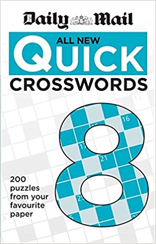 Daily Mail All New Quick Crosswords 8 (The Daily Mail Puzzle Books)