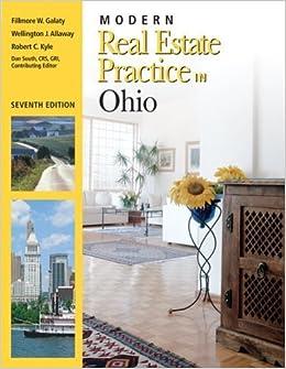Book Modern Real Estate Practice in Ohio by Galaty, Fillmore w., Allaway, Wellington J, Kyle, Robert C (February 18, 2008)