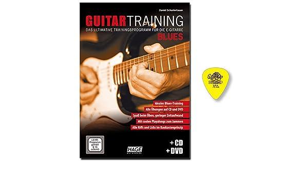 Guitar Blues de entrenamiento con CD, DVD – Guitarra Escuela de ...