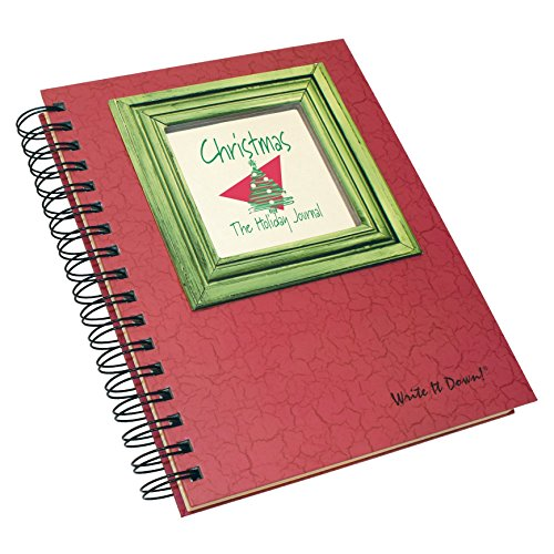 Christmas Memories Photo Book - Christmas, The Holiday Journal, 25 Years of Memories Hardcover, RED Color