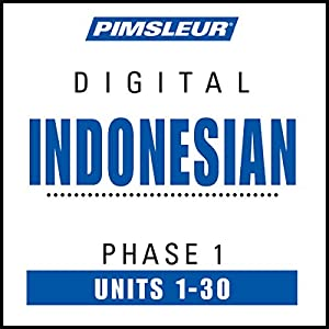 Indonesian Phase 1, Units 1-30 Speech