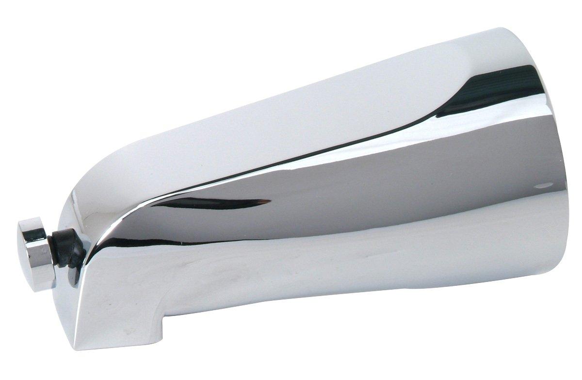 BrassCraft MXT02 Mixet 73 5-1/8-Inch Length Iron Pipe Diverter Tub Spout, Chrome