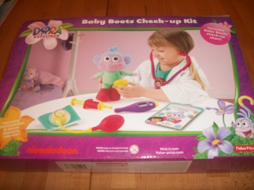 Baby Boots Check-up Kit - Dora the Explorer By Nickelodeon