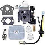 HIPA Carburetor with Fuel Maintenance Kit Spark Plug for ECHO GT200 GT201i HC150 HC151 PE200 PE201 PPF210 PPF211 SRM210 SRM211 Trimmer / Brushcutter
