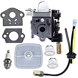 HIPA Carburetor with Fuel Maintenance Kit Spark Plug for ECHO GT200 GT201i HC150 HC151 PE200 PE201 PPF210 PPF211 SRM210 SRM211 Trimmer / Brushcutter