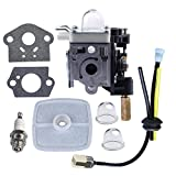 HIPA Carburetor with Fuel Maintenance Kit Spark Plug for Echo GT200 GT201i HC150 HC151 PE200 PE201 PPF210 PPF211 SRM210 SRM211 Trimmer/Brushcutter