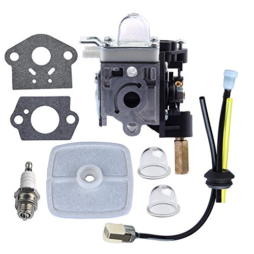 HIPA Carburetor with Fuel Maintenance Kit Spark Plug for ECHO GT200 GT201i HC150 HC151 PE200 PE201 PPF210 PPF211 SRM210 SRM211 Trimmer/Brushcutter - Echo Parts