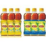 Lipton Ice Tea 350ml each (Peach 3 units, Lemon 3 units)