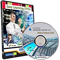 Easy Learning Learn AutoCAD Civil 3D v2015 Video Training Tutorial (DVD)