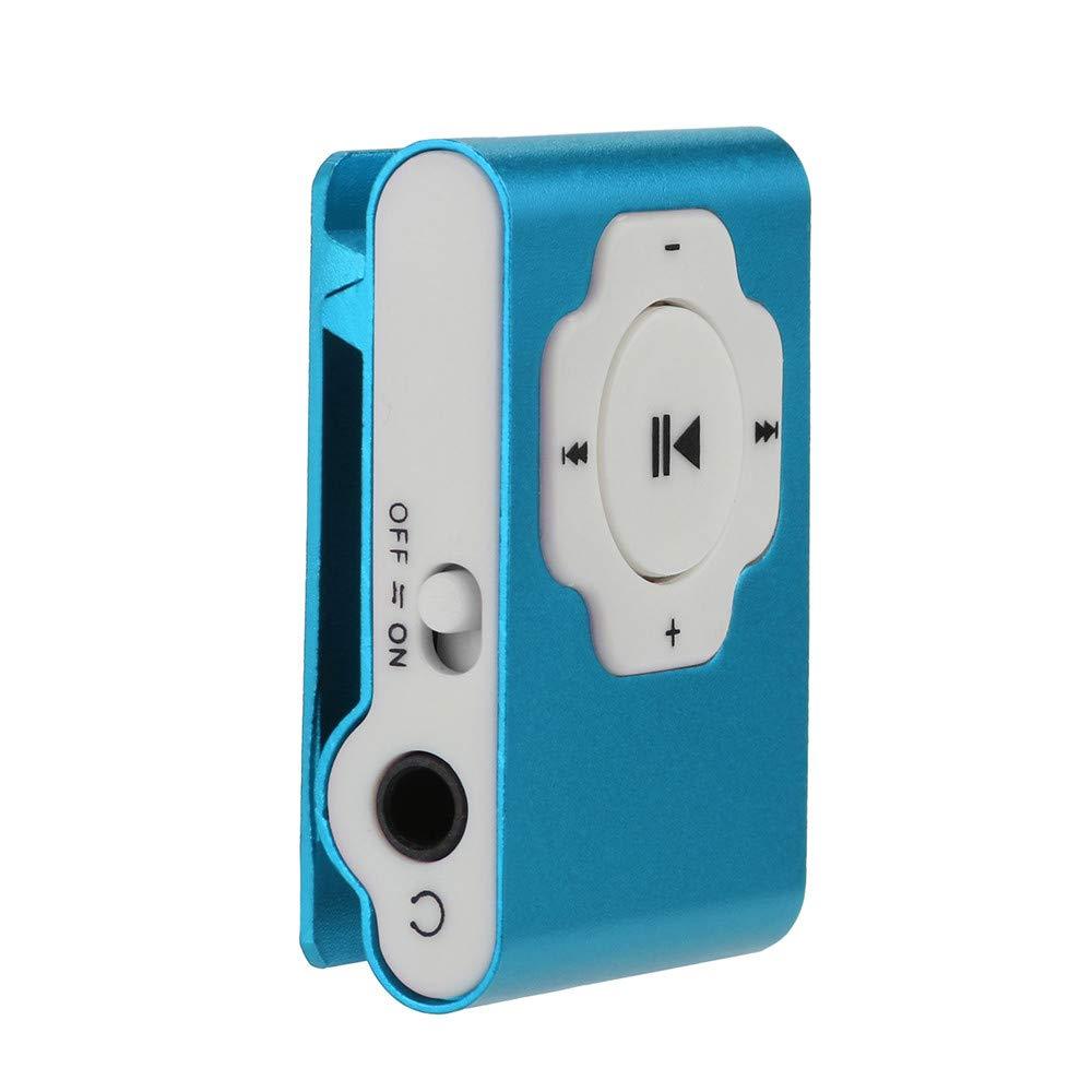 SamMoSon Mini lettore MP3 portatile USB Supporto Micro SD TF Card 32GB Music Media musicale | Card lettore mp3 Argento, rosso, viola, arancione, rosa caldo, verde, blu, nero rosso SamMoSon_Player_8Nov02_011