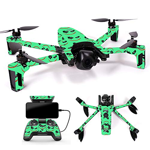 MightySkins Skin for Parrot Anafi Drone - Why So Serious | Protective, Durable, and Unique Vinyl Decal wrap Cover | Easy to Apply, Remove, and Change Styles | Made in The USA