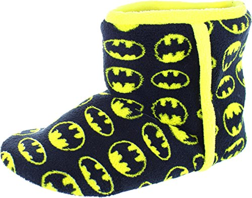 Batman Herren Slipboot Textil Hausschuhe Stiefel
